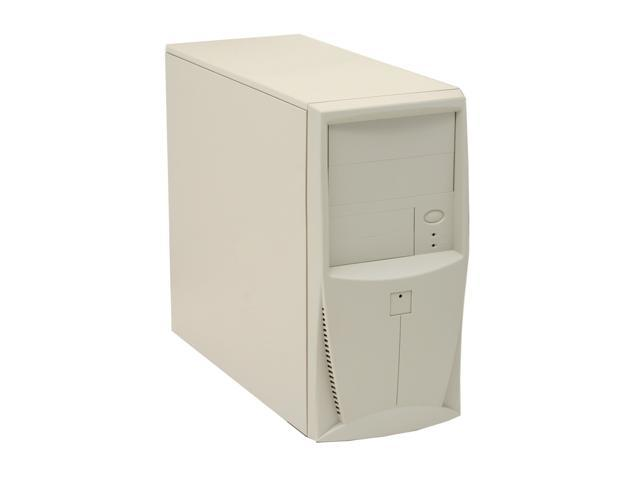 POWMAX MM3800 Beige SGCC Steel MicroATX Mini Tower Computer Case