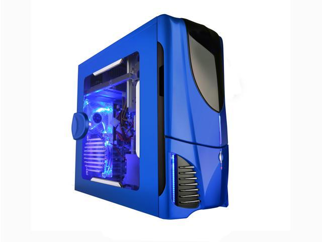NZXT Apollo BLUE NP Blue SECC Steel Chassis ATX Mid Tower Computer Case