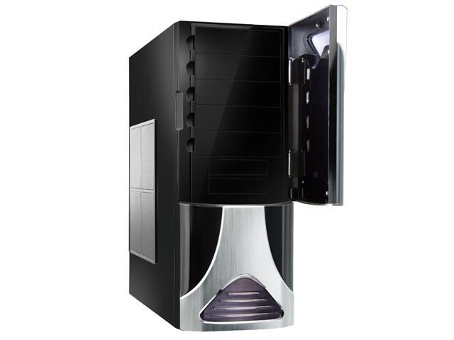 NZXT Zero Black/Silver Aluminum ATX Full Tower Computer Case