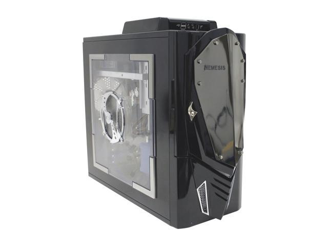 NZXT Nemesis Elite Black Aluminum ATX Mid Tower Computer Case