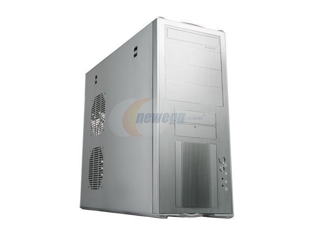 NZXT ADAMAS SLV Silver Aluminum ATX Mid Tower Computer Case