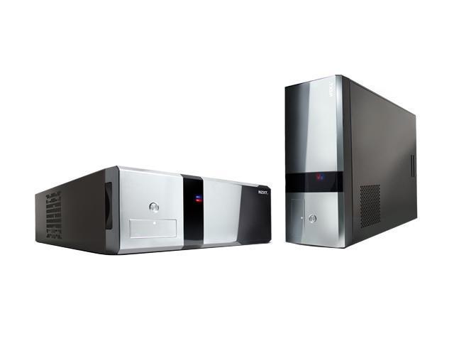 NZXT DUET BLK Black SECC Steel/ Aluminum HTPC Mid Tower/ Desktop Computer Case