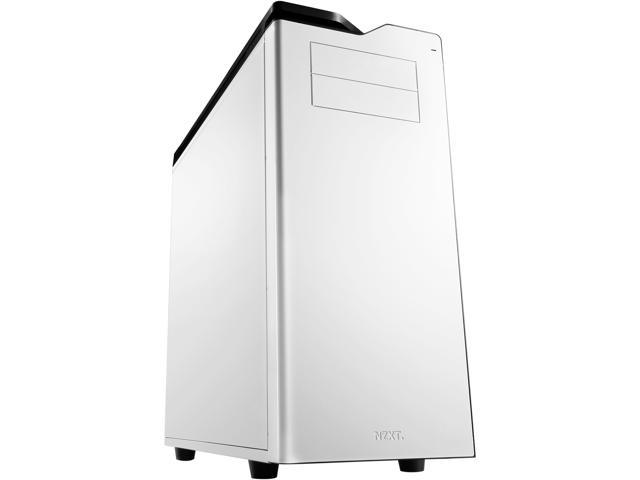 NZXT H630 CA-H630F-W1 White Steel Ultra Tower Silent Case Includes 1 x 200mm Front, 1 x 140mm Rear 2 x USB 3.0 SD Card Reader