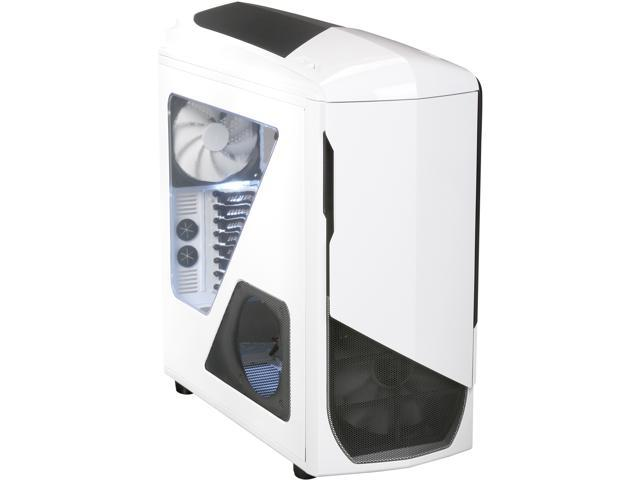 NZXT Phantom 530 White ATX Full Tower Computer Case Includes 1 x 200mm Front, 1 x 140mm Rear 2 x USB 3.0 Fan Controller