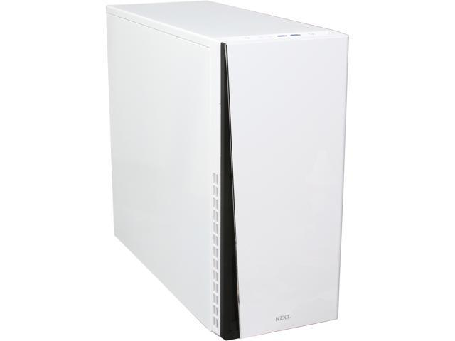 NZXT H230 White ATX Mid Tower Computer Case Includes 1 x 120mm Front, 1 x 120mm Rear 2 x USB 3.0