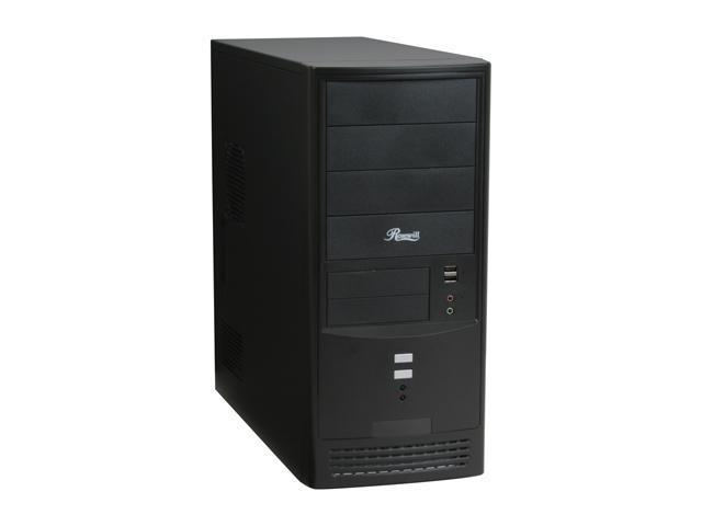 Rosewill R804BK Black Steel ATX Mid Tower Computer Case with 20+4Pin&1 SATA Connectors 350W Power Supply