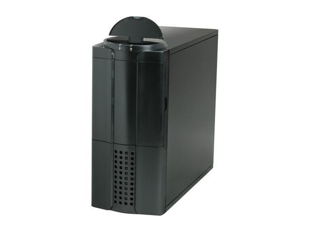 Rosewill R5604-TBK 0.8mm Japanese Cold Rolled Steel Screw-less Dual 120mm Fans ATX Mid Tower Computer Case