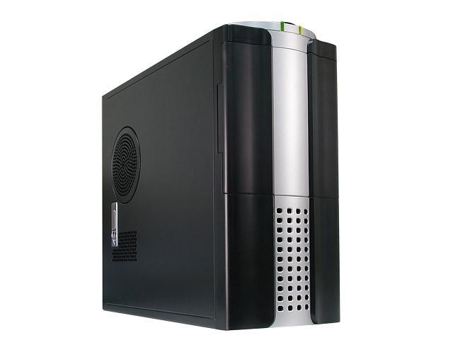 Rosewill R5604-BK 0.8mm Japanese Cold Rolled Steel Dual 120mm Fans Screw-Less design ATX Mid Tower Computer Case