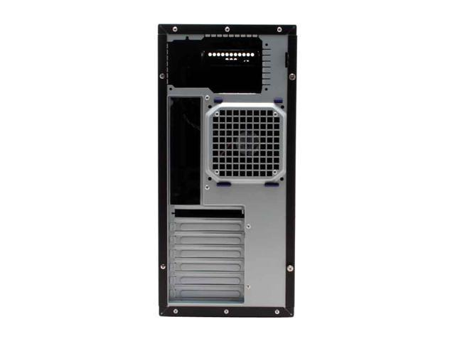 Rosewill R5601-BK 0.8mm Japanese Cold Rolled Steel Screw-less Dual 120mm Fans ATX Mid Tower Computer Case