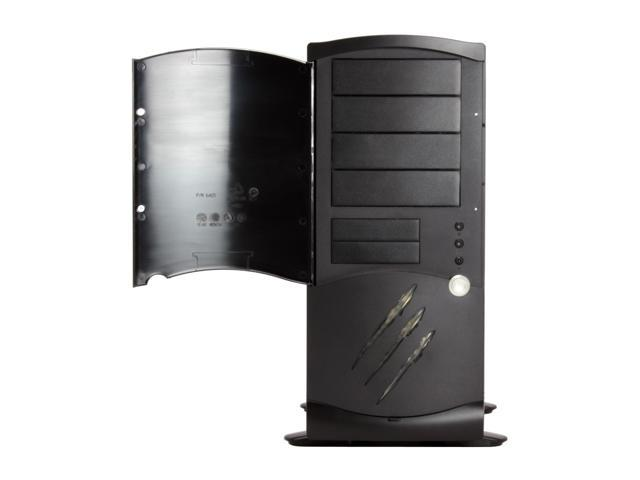 Rosewill R6AS5-BK 0.8mm SECC 120mm Fan ATX Mid Tower Computer Case