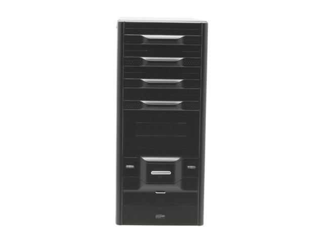 Rosewill R6421 BK ATX Mid Tower Computer Case+350W Power Supply