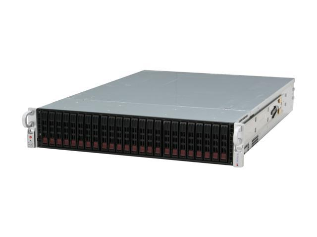 SUPERMICRO CSE-216A-R900LPB Black 2U Rackmount Server Case