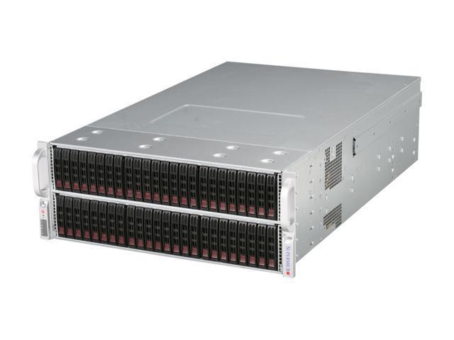 SUPERMICRO CSE-417E16-R1400LPB Black 4U Rackmount Extra High-Density Server Chassis