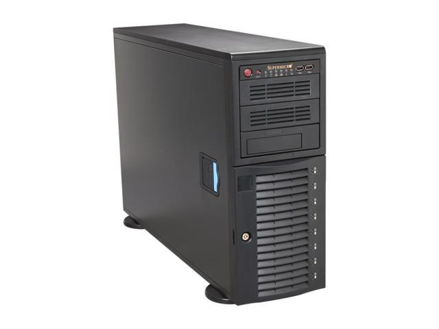SUPERMICRO CSE-743T-500B Black Pedestal Server Case