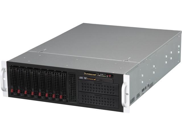 SUPERMICRO CSE-835TQ-R800B Black 3U Rackmount Server Case
