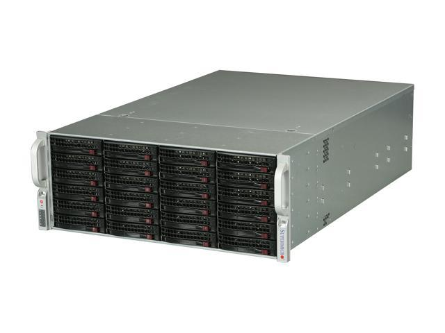 SUPERMICRO CSE-846E1-R900B Black 4U Rackmount Server Case