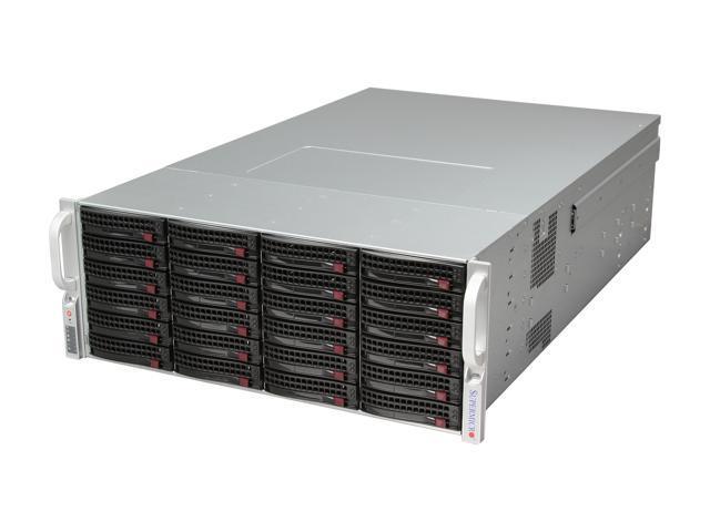 SUPERMICRO SuperChassis CSE-847A-R1400LPB Black 4U Rackmount Server Case