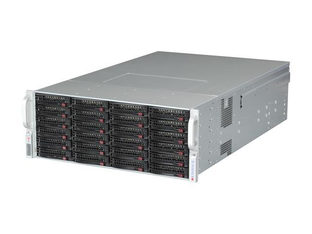 SUPERMICRO CSE-847E16-R1400LPB Black 4U Rackmount Server Case