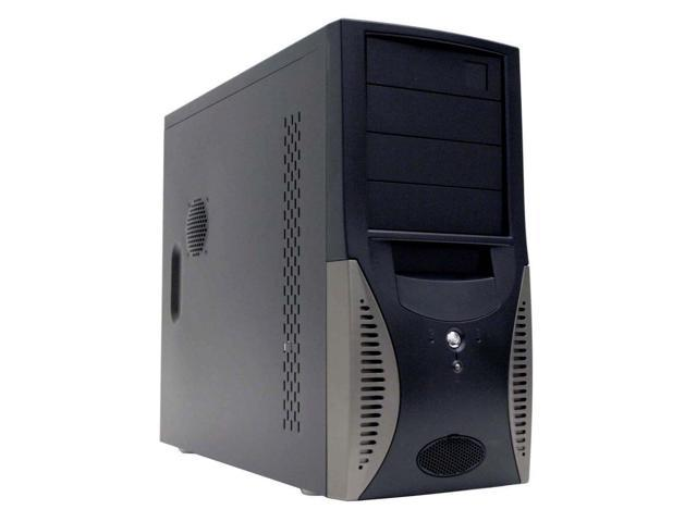 APEX TU-163 Black Steel ATX Mid Tower Computer Case 350W Power Supply