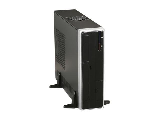 APEX DM-318 Black Steel Micro ATX Media Center / Slim HTPC Computer Case w/ ATX12V TFX 275W Power Supply