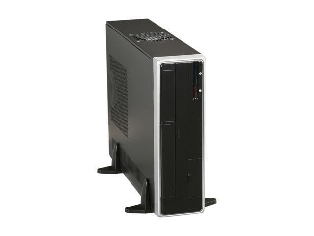 APEX DM-318 Black Steel Micro ATX Media Center / Slim HTPC Computer Case w/ ATX12V TFX 275W Power Supply