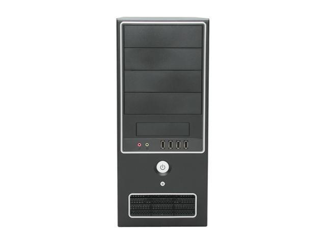 APEX SK-386 Black Steel ATX Mid Tower Computer Case 300W Power Supply