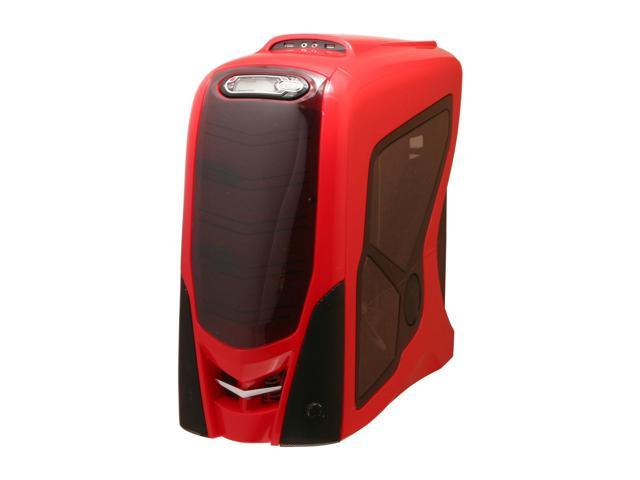 RAIDMAX RX-9 GT ATX-911WR Red/Black Aluminum ATX Mid Tower Computer Case
