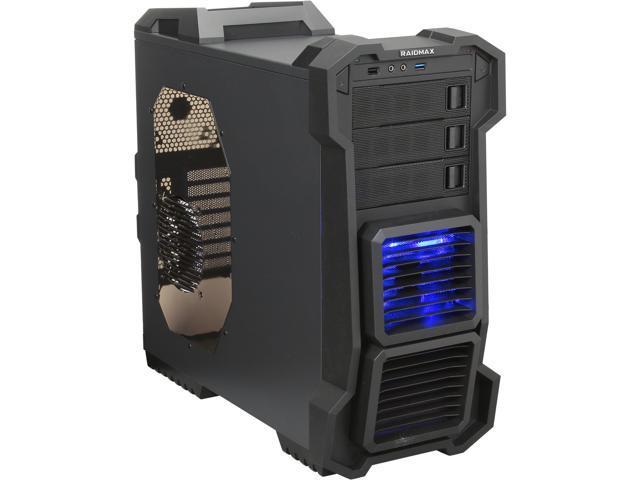 RAIDMAX Helios ATX-819WB Black Steel / Plastic ATX Mid Tower Computer Case