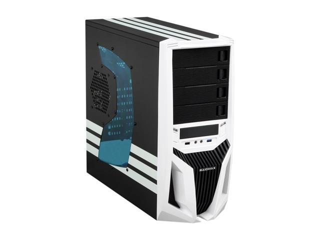RAIDMAX Blade ATX-298WW Black/White Steel / Plastic ATX Mid Tower Computer Case