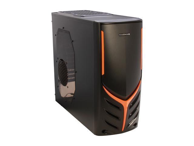 RAIDMAX ATX-321WB Black Steel / Plastic ATX Mid Tower Computer Case