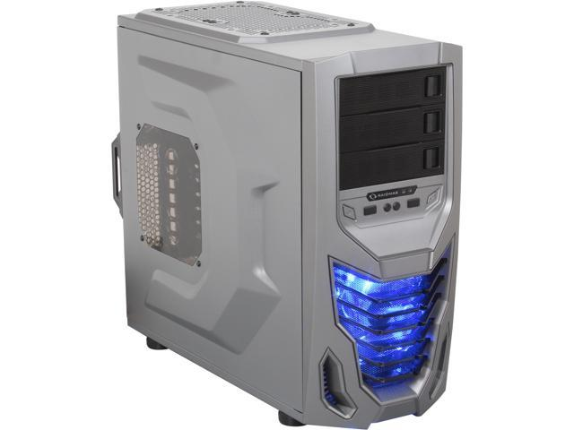 RAIDMAX Cobra ATX-502WTIU Titanium/Black Steel / Plastic ATX Mid Tower Computer Case