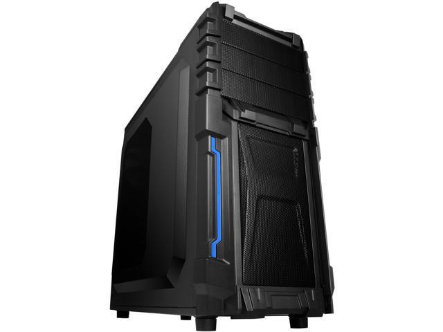 RAIDMAX ATX-402WB Black Steel / Plastic ATX Mid Tower Computer Case