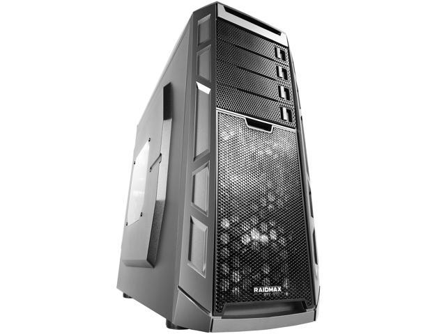 RAIDMAX Narwhal ATX-920WBTI Black/Titanium Steel / Plastic ATX Full Tower Computer Case