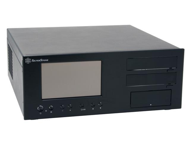 SILVERSTONE Black Aluminum Lascala Series LC18-B ATX Media Center / HTPC Case
