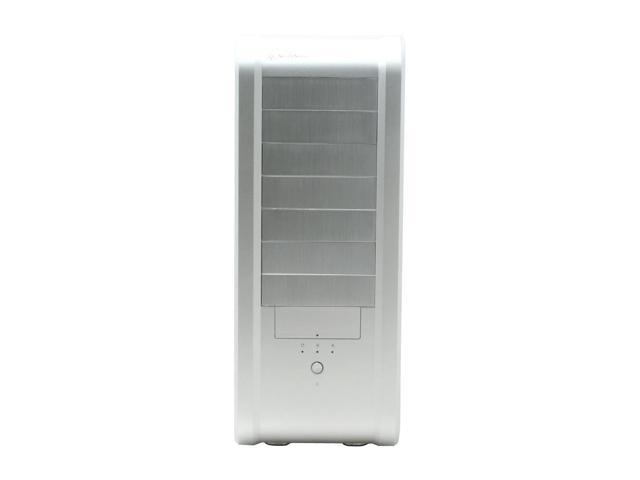 SilverStone Temjin Series SST-TJ07-SW Silver Aluminum ATX Full Tower Computer Case