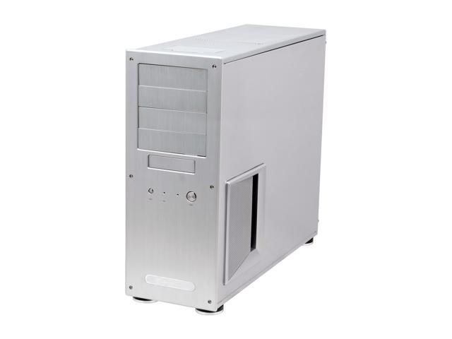 SilverStone Temjin Series TJ09-SW Silver Aluminum ATX Mid Tower Computer Case