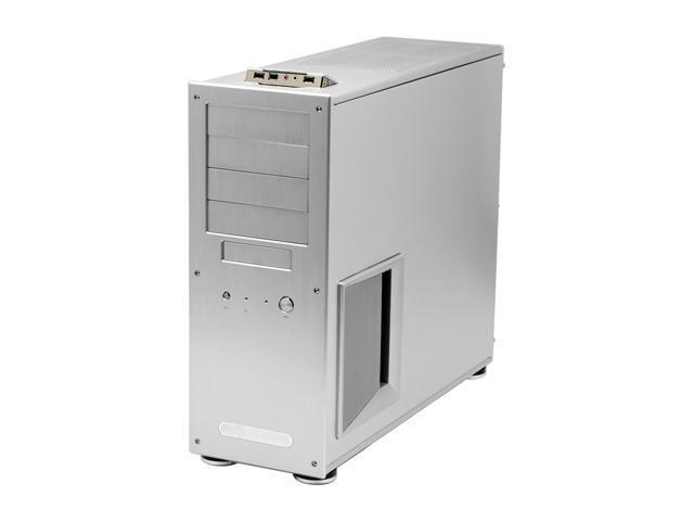 SilverStone Temjin Series TJ09-S Silver Aluminum ATX Full Tower Computer Case