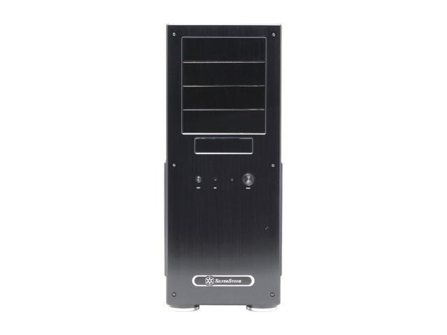 SilverStone Temjin Series TJ09-B Black Aluminum ATX Full Tower Computer Case