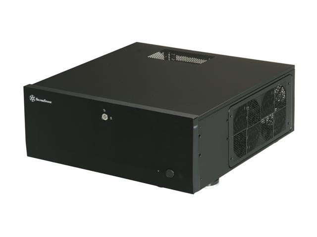 SILVERSTONE Black Aluminum / Steel Grandia Series SST-GD07B ATX Media Center / HTPC Case