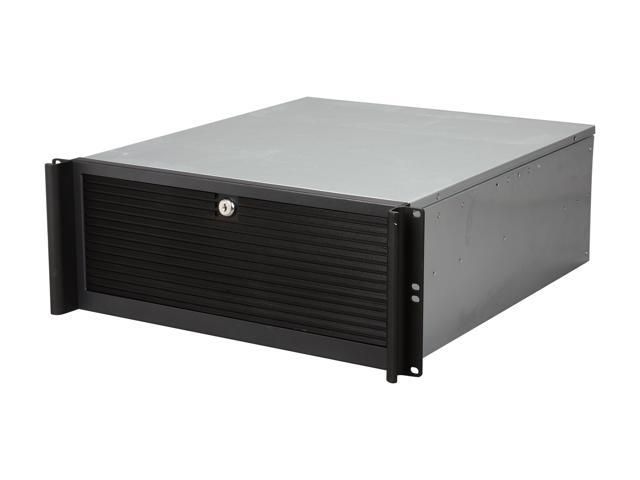 iStarUSA D416-4T5P Steel 4U Rackmount Value Stylish Server Case with Rails