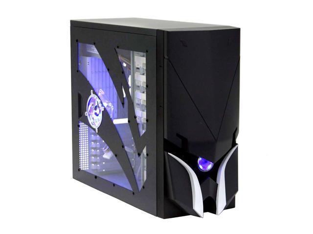 Sunbeam Samurai IC-SA-BA Black Steel ATX Mid Tower Computer Case