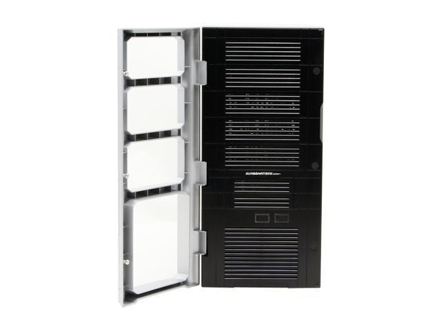 Sunbeam Quarterback IC-QB-US-SVBK Silver/ Black Steel ATX Mid Tower Computer Case 450W Power Supply