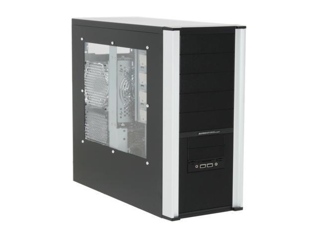 Sunbeam 3D Storm IC-3DS-SVBK Black Steel ATX Mid Tower Computer Case