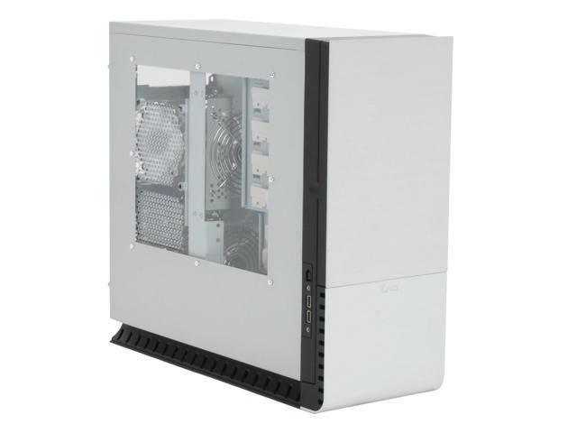 Tuniq 3 IC-TQ3-US-SVBK Black/ Silver Aluminum front bezel, 0.8mm SECC chassis ATX Mid Tower Computer Case