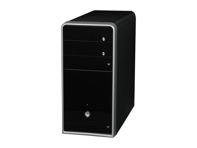 ASUS TM-210 Black 0.6mm SECC MicroATX Mini Tower Computer Case 300W Power Supply