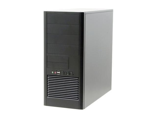 ASUS TA-582 Black 0.6mm SECC steel ATX Mid Tower Computer Case 350W Power Supply