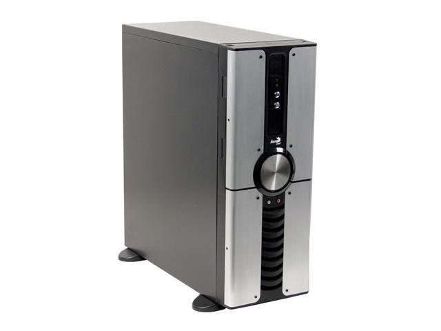 AeroCool SPIRAL GALAXIES Black/Silver SECC 0.8mm / Front Panel ABS, Aluminum ATX Full Tower Computer Case