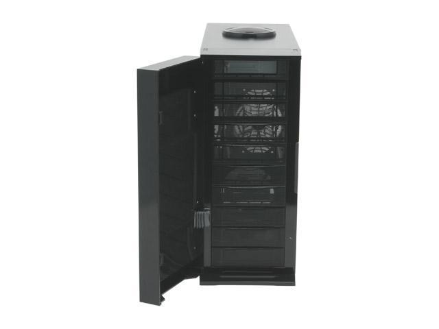 AeroCool Coolview BLK Black 0.8mm SECC ATX Desktop Computer Case