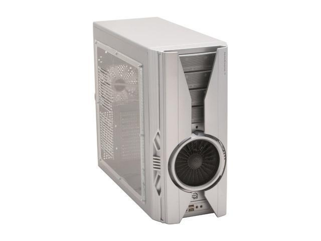 AeroCool AeroEngineII-SSP Silver 0.65mm SECC ATX Mid Tower Computer Case