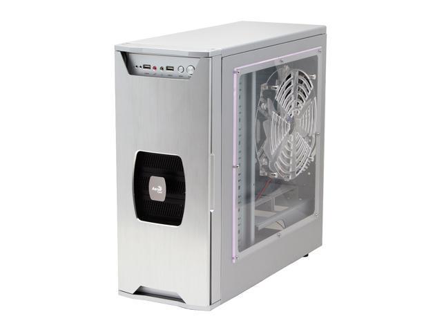 AeroCool ZeroDegree-SV Silver 0.8mm SECC ATX Full Tower Computer Case